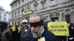 Ân xá Quốc tế đòi công lý vụ giết hại sinh viên Italy, Guido Regeni.