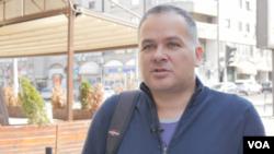 Aleksandar Stevanović, ekonomista (Foto: Rade Ranković, VoA)