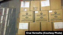 Donativos para vítimas da enxurrada de 2015 no Lobito