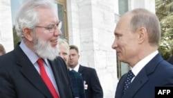 Владимир Путин и директор МОТ в Женеве