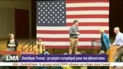 Destituer Trump: un projet compliqué pour les démocrates