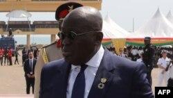 Le président ghanéen Nana Akufo Addo à Accra, le 30 novembre 2017.