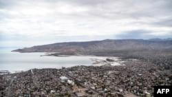 FILE - Gonaives, the capital of Artibonite Department in northern Haiti, 150 kilometers from Port-au-Prince, seen May 7, 2016.