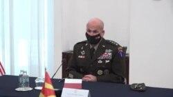 Командантот на силите на САД за Европа и Африка во посета на Скопје