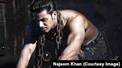 نجیم خان، هنرپیشۀ افغان در هند
