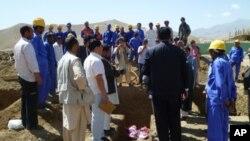 پروژه پخته کاری میدان هوایی بامیان آغاز شد
