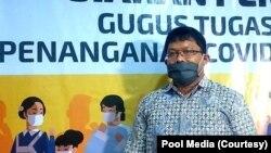 Riris Andono Ahmad, peneliti Fakultas Kedokteran, Kesehatan Masyarakat dan Keperawatan UGM. (Foto: Pool Media)