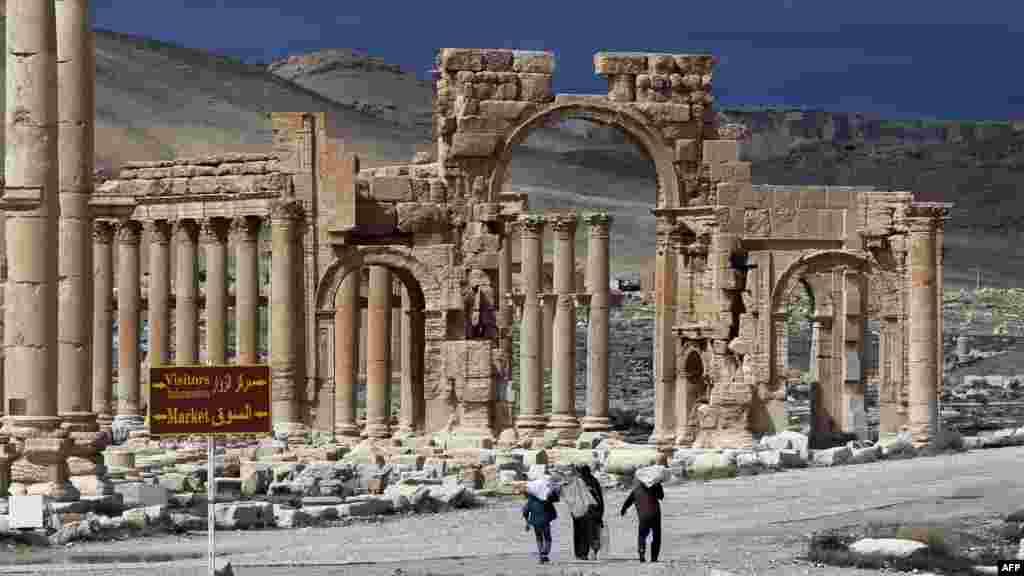 Qədim Palmira şəhəri