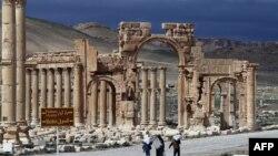 ဆီးရီးယားႏုိင္ငံက ေရွးေဟာင္းၿမိဳ႕ Palmyra။
