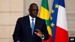 Rais wa Senegal, Macky Sall.