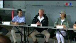 Donald Tramp Puerto-Rikoda olub