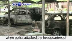 VOA60 Africa - Over 1,000 Arrested in Gabon Post-election Violence