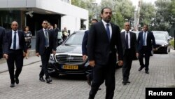 Muummee ministiraa Lebaanoon Saad al-Hariri