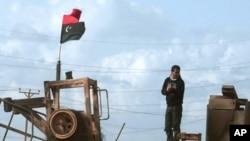利比亞地面戰事非常激烈。