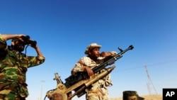 反對卡扎菲的叛軍