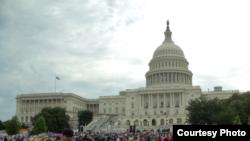 Le Capitole à Washington, D.C. (Diaa Bekheet/VOA)