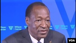 Blaise Compaoré, l'ancien président du Burkina Faso