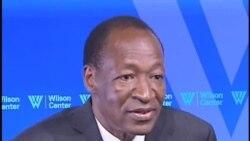 Interview du President Blaise Compaoré avec Mariama Diallo