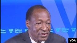 Regardez l'nterview du President Blaise Compaoré avec Mariama Diallo