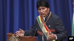 El presidente de Bolivia, Evo Morales, genera constantes polémicas con sus declaraciones ya que a veces acude a un lenguaje coloquial.