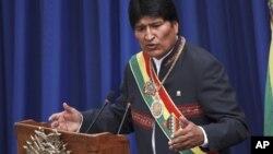 """Evo Morales dijo que Chávez fue envenenado porque el """"imperio"""" no pudo derrotarlo con un golpe de Estado."""