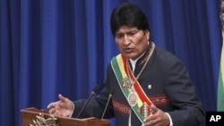 Evo Morales es acusado por casos como Chaparina, cuando se reprimió habitantes del Territorio Indígena y Parque Nacional Isiboro Sécure (Tipnis).