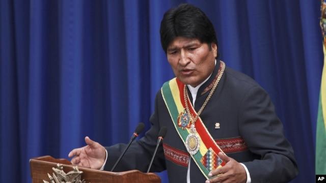 Evo Morales agradece que Bolivia se haya reintegrado a la Comisión de Estupefacientes de la ONU y que hayan reconocido la despenalización de la hoja de coca en su país.