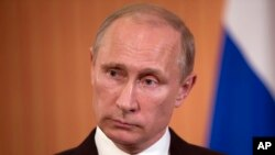 روس کے صدر ولادیمر پوٹن
