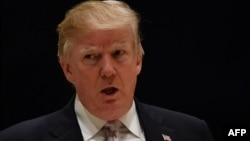 Presiden Amerika Donald Trump menyangkal bahwa dia adalah seorang rasis.