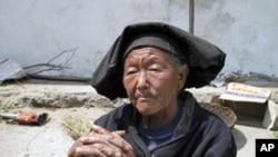 中國西部的貧窮農民和他們的住房