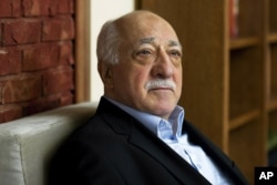 FILE - In this March 15, 2014, file photo, Turkish Islamic preacher Fethullah Gulen is pictured at his residence in Saylorsburg, Pennsylvania.