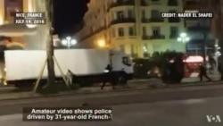 84 người tử nạn trong vụ xe tải tông vào đám đông ăn mừng lễ Quốc khánh ở Pháp