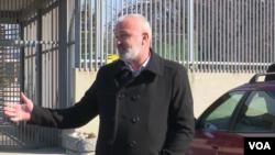 Arhiv - Goran Sarić ispred Suda BiH
