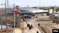 Laporan mengatakan bahwa pasukan Iran menangkap seorang mata-mata perempuan di sepanjang perbatasan Iran utara.