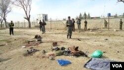 TKPi serangan bom bunuh diri di Kunduz, Afghanistan utara, Senin (14/3).