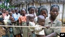 District de Vangaindrano, Madagascar, janvier 2006 (Archives)