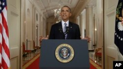 Tổng thống Obama phát biểu trong bài diễn văn trước nhân dân Mỹ tối thứ ba, ngày 10/9/2013.