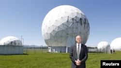 Kepala dinas intelijen Jerman (BND) Gerhard Schindler di Bad Aibling, Munich selatan, 6 Juni 2014 (Foto: dok).