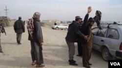 نیروهای امنیتی افغان در اطراف ولسوالی چهاردره مستقر شده اند