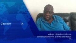 Makuta Nkondo considera linguagem de João Lourenço de arrogante