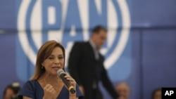 Vázquez Mota estaría a punto de perder el poder que el PAN consiguió hace 12 años.