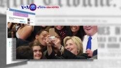 Manchetes Americanas 26 Outubro: Hillary tenta atrair os eleitores jovens
