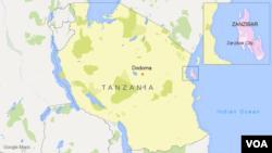 La Tanzanie et Zanzibar.