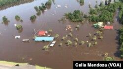 Cơn bão Harvey mới đây đã gây thiệt hại nặng nề ở Texas.
