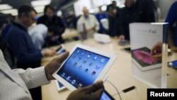 Los iPads de 128 GB estarán disponibles en dos colores y tendrán acceso a redes inalámbricas súper rápidas.