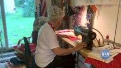 Чому 94-річна волонтерка шиє маски усім бажаючим. Відео