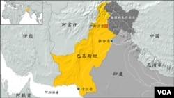 巴基斯坦地圖
