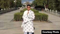 西藏异议人士,现年57岁的洛迪·嘉措。