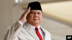 Menteri Pertahanan RI Prabowo Subianto, dijadwalkan bertemu dengan Menteri Pertahanan AS di Pentagon, Jumat (16/10). (Foto: dok).