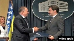 Ministri pravde Srbije i Bosne i Hercegovine,